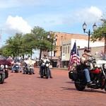 Motorcycles in Farmersville