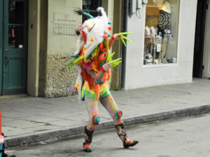 colorful street dancer