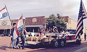 FlyOver In Farmersville Audie Murphy Day Ruth Glover - Audie's grocery store